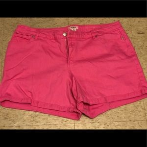 Cato's Plus Size Pink Shorts